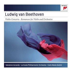 Violin Concerto in D Major,op.61; Romances/+