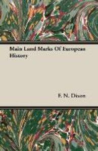 Main Land Marks Of European History