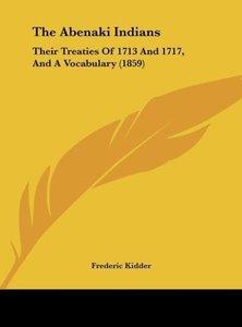 The Abenaki Indians