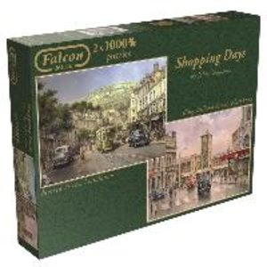 Jumbo 11049 - Falcon - Shopping Day - 2 x 1000 Teile