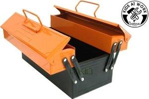 Corvus A600027 - Kids at work: Metall-Werkzeugkasten, orange