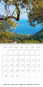 Island of Lefkada (Wall Calendar 2015 300 × 300 mm Square)