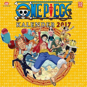 One Piece - Wandkalender 2017