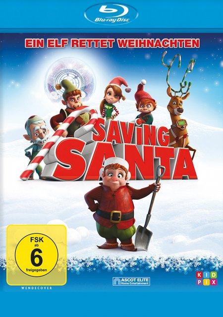 Saving Santa-Ein Elf rettet Weihnachten-Blu-ray - zum Schließen ins Bild klicken
