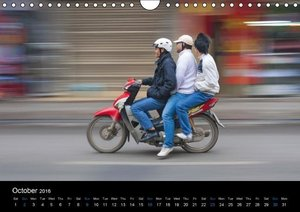Vietnam (UK-Version) (Wall Calendar 2016 DIN A4 Landscape)