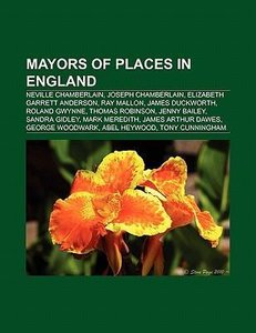 Mayors of places in England
