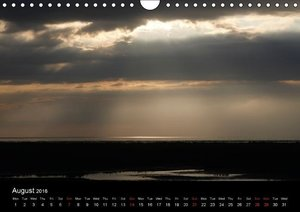 North sea / UK-Version (Wall Calendar 2016 DIN A4 Landscape)