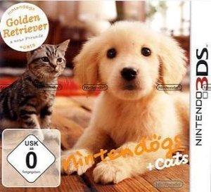 Nintendogs Golden Retriever and New Friends. Nintendo 3DS