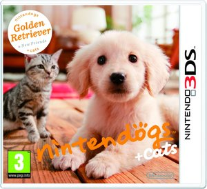 Nintendogs Golden Retriever and New Friends. Nintendo 3DS
