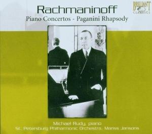 Rachmaninoff: Klavierkonzerte/Paganini-Rhapsodie
