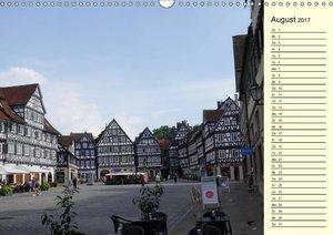 Unterwegs in Schorndorf (Wandkalender 2017 DIN A3 quer)