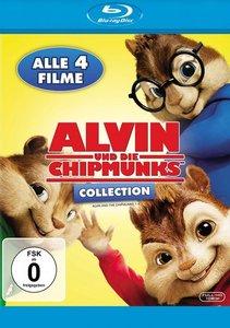 Alvin und die Chipmunks 1-4 Collection