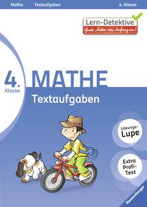 Lern-Detektive: Textaufgaben (Mathe 4. Klasse)
