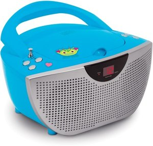 Tragbares CD/Radio CD55 - Kids blau