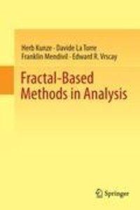 Fractal-Based Methods in Analysis