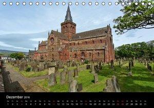 Historisches Schottland (Tischkalender 2016 DIN A5 quer)