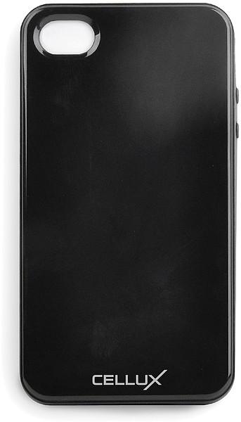 CELLUX TPU Back Case - iPhone 4/4S, frosted-black - zum Schließen ins Bild klicken