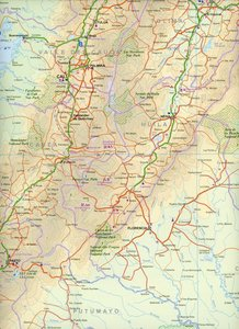 Colombia Travel Map 1 : 1 400 000