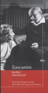 Toscanini unveröffentlicht