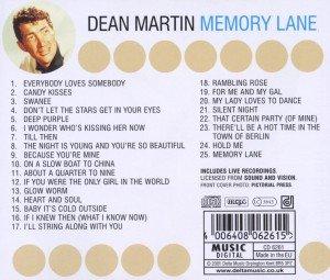 Memory Lane - 25 Great Tracks