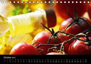 Pasta KreationenCH-Version (Tischkalender 2016 DIN A5 quer)