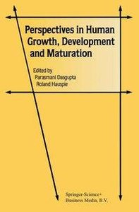 Perspectives in Human Growth, Development and Maturation