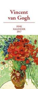 Vincent van Gogh Kunst-Postkartenkalender 2017