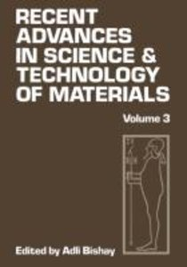 Recent Advances in Science and Technology of Materials