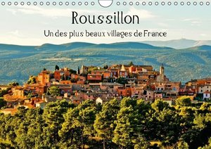 Roussillon Un des plus beaux villages de France (Calendrier mura