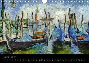 Venise impressionniste (Calendrier mural 2015 DIN A4 horizontal)