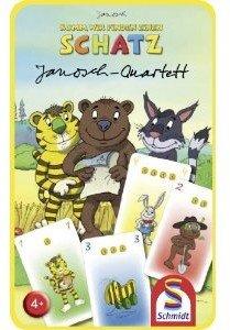 Schmidt Spiele 51265 - Janosch: Quartett