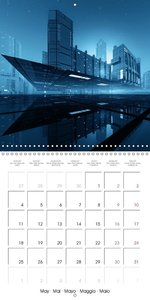 CITY OF IMAGINATION (Wall Calendar 2015 300 × 300 mm Square)