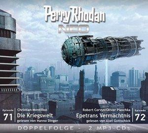 Perry Rhodan NEO 71 - 72 Die Kriegswelt - Epetrans Vermächtnis