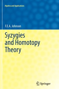 Syzygies and Homotopy Theory