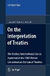 On the Interpretation of Treaties