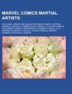 Marvel Comics martial artists