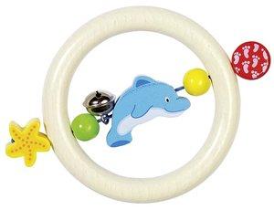 Goki 35600 - Greifling Delfin, Holz