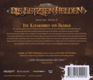 Die letzten Helden - Episode 2 - Die Katakomben von Danbar