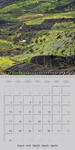 Lanzarote - island of contrasts (Wall Calendar 2015 300 × 300 mm