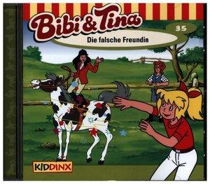 Bibi und Tina 35. Die falsche Freundin. CD