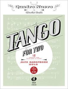 Tango for Two. 12 Tangos for Alto Saxophone & Piano