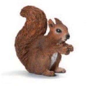 Schleich 14684 - Wild Life: Eichhörnchen, fressend