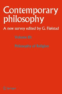 Contemporary Philosophy: A New Survey Volume 10: Philosophy of R