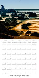 Romantic Marine Vistas (Wall Calendar 2015 300 × 300 mm Square)