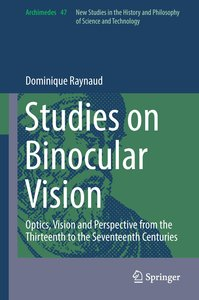 Studies on Binocular Vision