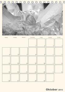 pötsch, r: Bergkristall im Licht / Planer (Tischkalender 201