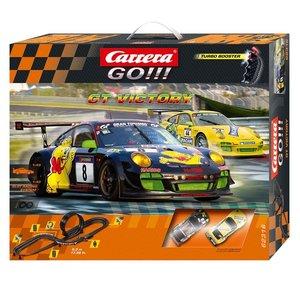 Carrera 20062316 - Go!!! Go GT Victory, Rennbahn mit 2x GT3 Pors