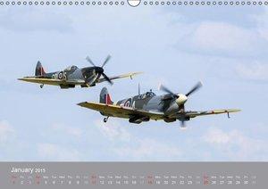The Flying Legends (Wall Calendar 2015 DIN A3 Landscape)
