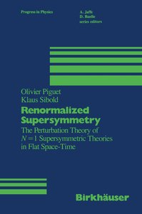 Renormalized Supersymmetry