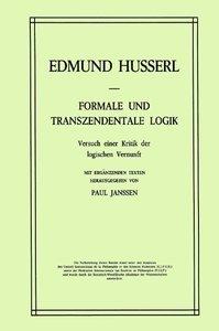Formale und Transzendentale Logik